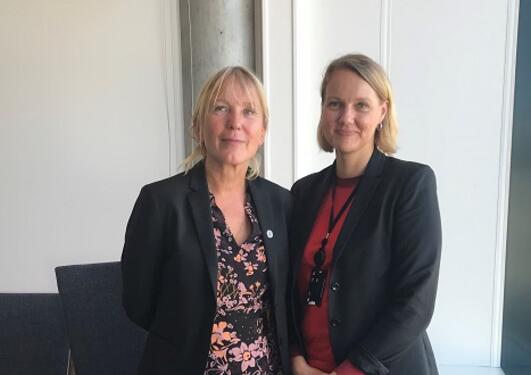 Margareth Hagen og Benedicte Løseth