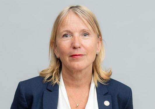 Bilde av rektor Margareth Hagen
