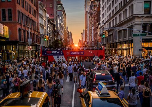 New York crowd