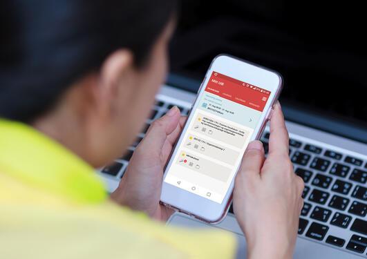 Mitt UiB mobile application