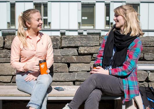 Studenter i solen