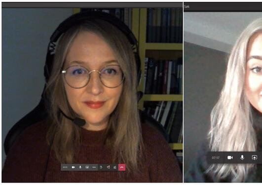 Pictures of Monica Hellesvik, Hanne Øye, Henriette Aksnes