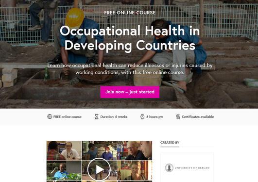 MOOC in Occupational Health