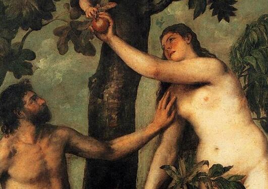 Adam og Eva i Edens hage