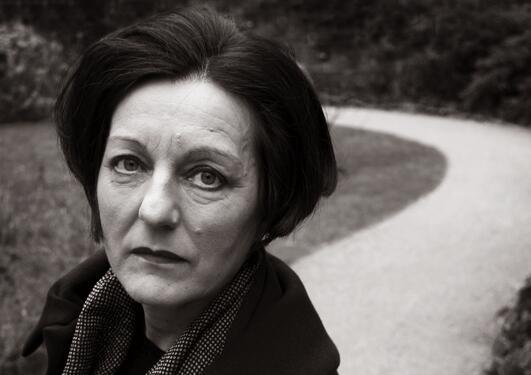 Portrett av Herta Müller