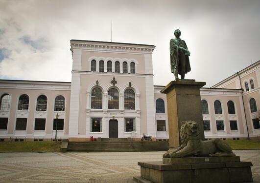 Fasaden til Universitetsmuseet