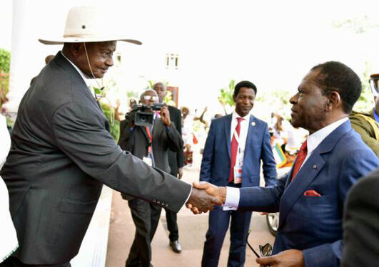Museveni and Mbasogo