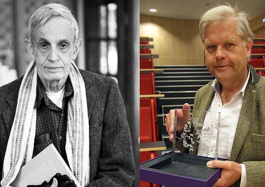 John Nash vann Abelprisen i 2015, no skal den stillast ut i hans ære i auditoriet han haldt si siste forelesning. – Han satte prisen høgt, seier UiB-matematikkprofessor Hans Munthe-Kaas.