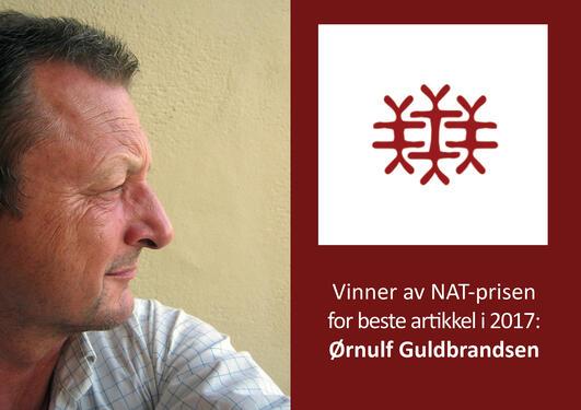 NAT-vinner 2017 Ørnulf Guldbrandsen