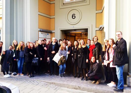 SOS 113 studenter besøker NAV-Hordaland