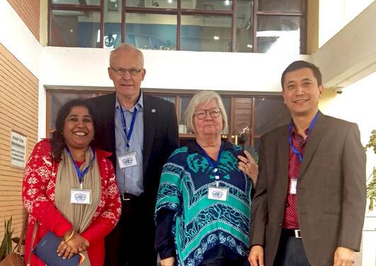 Prosjektmøte i Nepal