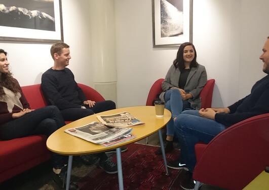 Fire stipendiater ved institutt for økonomi