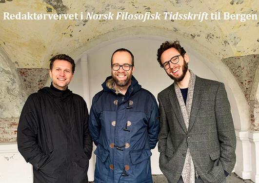 Bilde av Steinar Bøyun, Espen Gamlund og Sveinung Sundfør Sivertsen