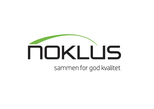 Bildet viser logo for Noklus