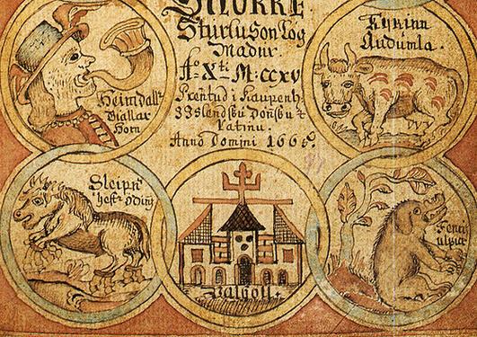 Den eldre litteraturen - NORSK 2