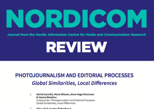 Forside på Nordicom review