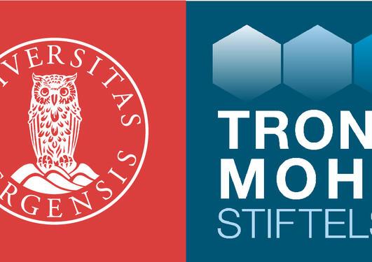 UiB og Trond Mohn stiftelses logoer på norsk