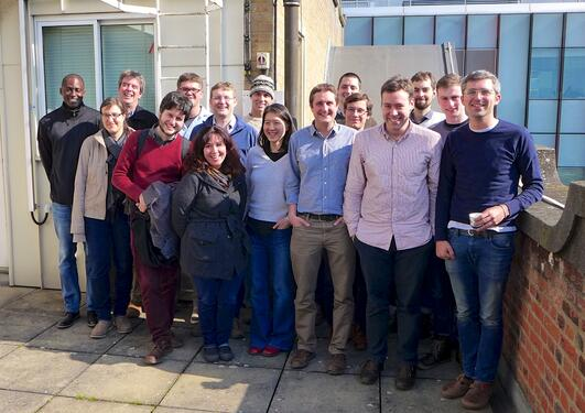 The Norwegian jetSTREAM crew met at workshop in Oxford