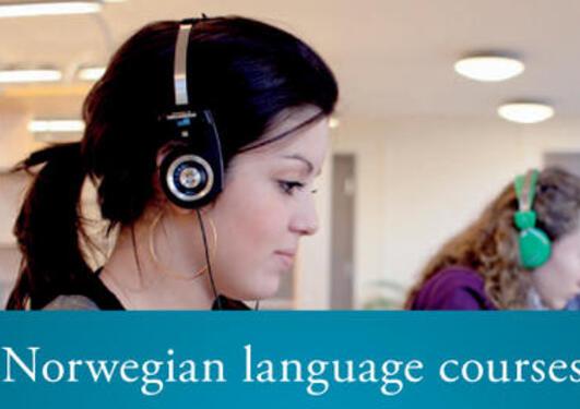 Student with headphone