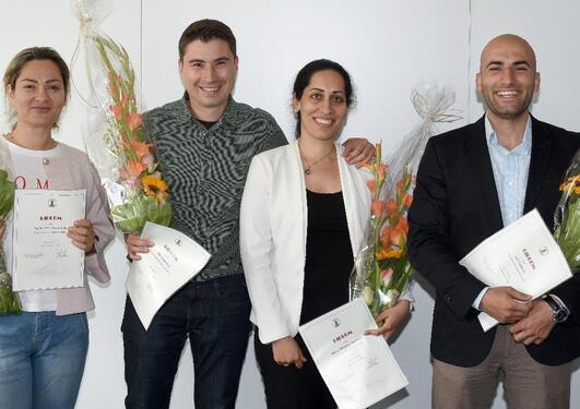 4 nye spesialister i endodonti