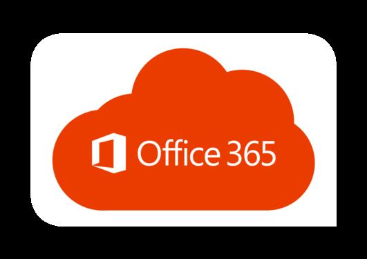 Bildet viser Office 365 i skyen