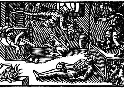 Olaus Magnus, Historia de gentibus septentrionalibus, 1555