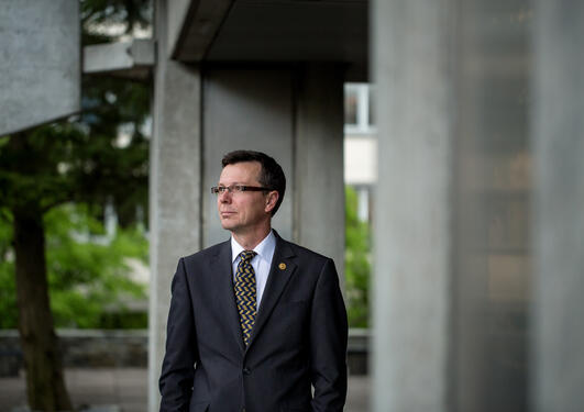 Rektor Dag Rune Olsen