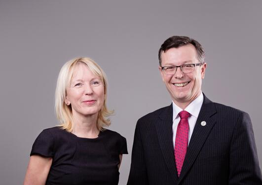 Margareth Hagen og Dag Rune Olsen