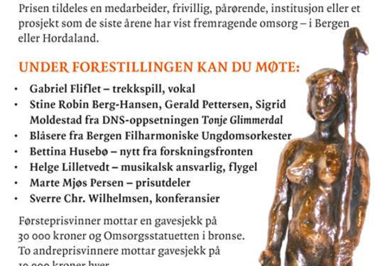 Omsorgsprisen 2015 annonse