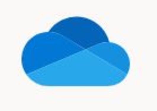Bildet viser ikonet til OneDrive.