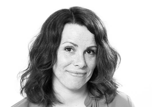 Portrett av forfatter Gunnhild Øyehaug