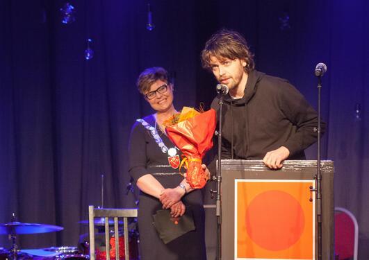 bilde fra utdelingen av vozzajazz-prisen 2016