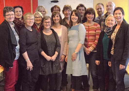 Deltakere og kursholdere MEDKVFORSK høsten 2015