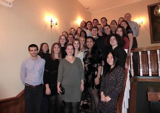 Deltakere ved årlig seminar på Voss, 2017