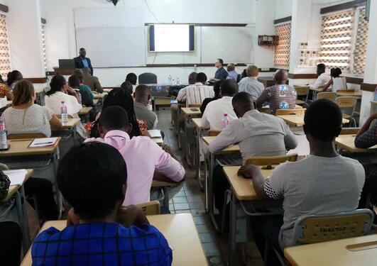 Presentation by Dr Austin D. Ablo