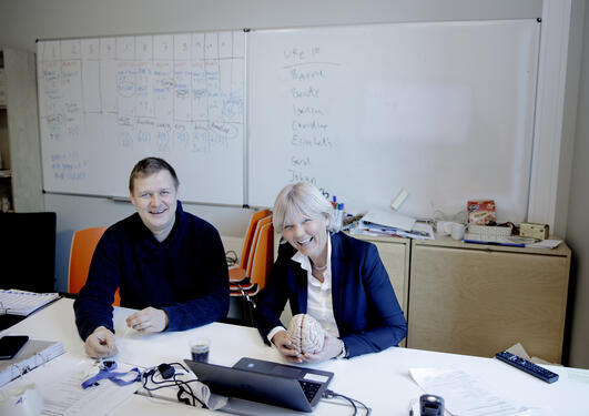 Gerd Kvale og Bjarne Hansen