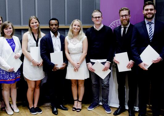 Students who have received their bachelor diploma.