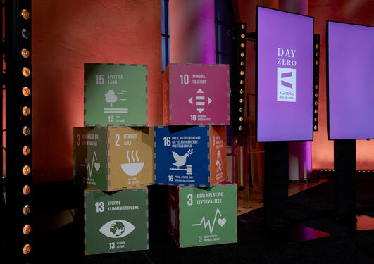 Photo from Day Zero at the fourth annual SDG Conference Bergen in February 2021.