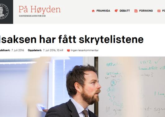 Mediaklipp På Høyden