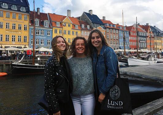 Nora Netteland i Kjøbenhavn