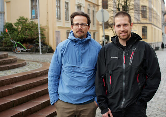 Øyvind Paasche og Kjetil Våge are leading the project Ocean Outlook. The project is now supported by SIU.