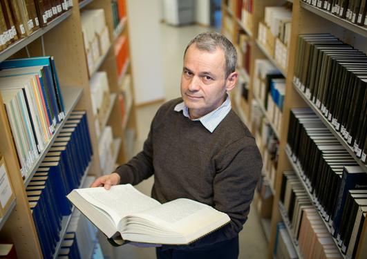 Miguel Ángel Quesada-Pacheco på biblioteket