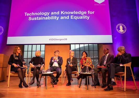 SDG panel