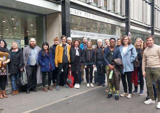Deltagere på ph.d.-kurs i Paris.