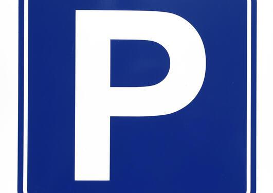 Bilde av parkeringsskilt