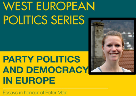"Yvette Peters has contributed chapter 13 of the recently published book ""Party Politics and Democracy in Europe"", honouring Peter Mair. Peters' essay is named ""Hollower Democracy? Studying the Consequences of a Changing Demos""."