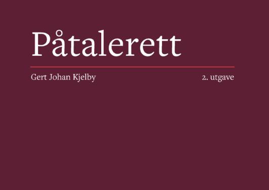 Forside av publikasjonen Påtaerett