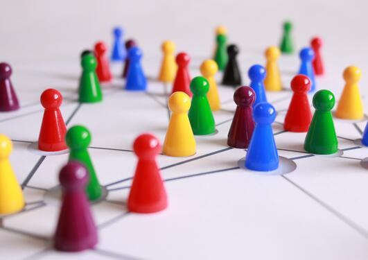 illustrasjon av nettverk
