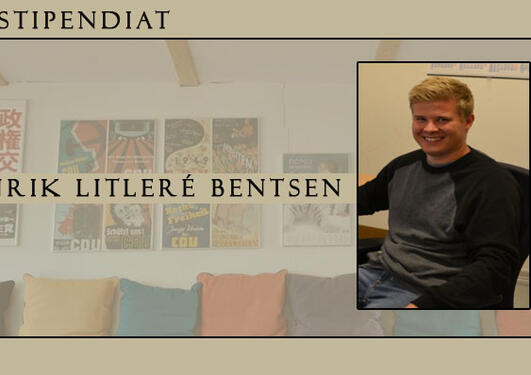 PhD kandidat Henrik Litleré Bentsen