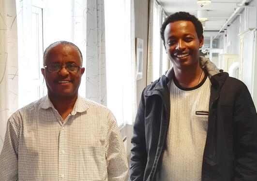 Getachew TESHOME and Lelisa FEKADU